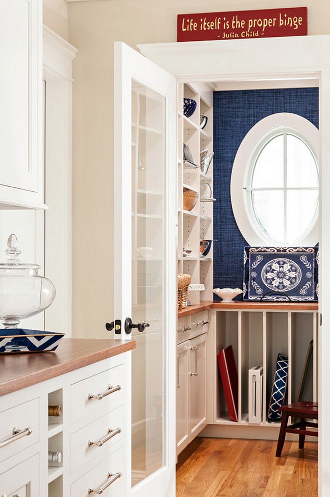 Kitchen Pantry. Kitchen pantry with cabinets and shelves. Kitchen pantry storage. Kitchen pantry #kitchenpantry #Kitchen #pantry #pantrycabinet #pantrystorage #pantryshelves Violandi + Warner Interiors