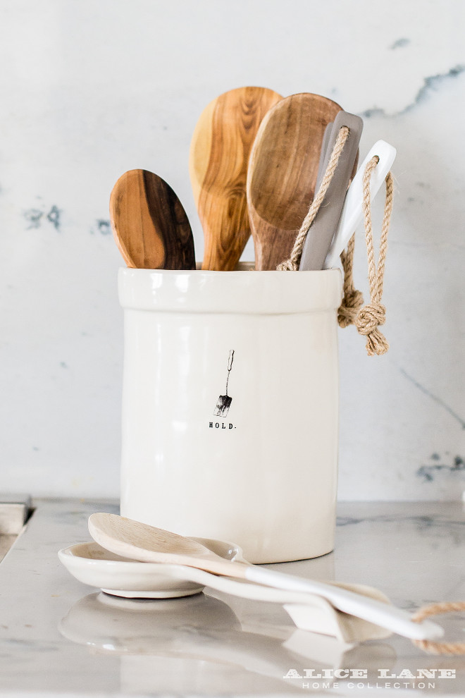 Kitchen utensil holder. The Kitchen utensil holder is from Alice Lane Home - $37.00 #Utensils #Kitchenutensilholder #utensilholder Alice Lane Home
