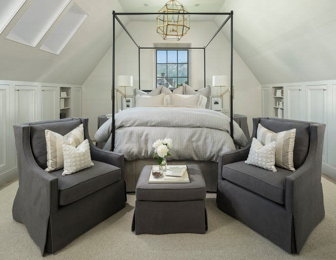 Master Bedroom. Craftsman Vaulted Ceiling in master bedroom. How to design a bedroom with Craftsman Vaulted Ceiling. #Bedroom #Craftsman #Vaulted #Ceiling Jackson and LeRoy