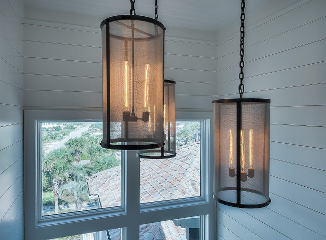 Restoration Hardware Pendants. The Morar Group.