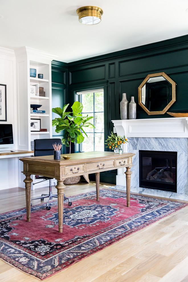 Laundry room design interior design ideas home bunch for Benjamin moore dark green
