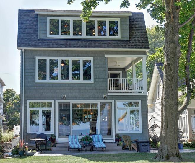 Shingle Cottage. Gray Shingle Cottage. Gray Shingle Cottage Exterior. Gray Shingle Cottage Ideas. #GrayShingle #Cottage Oster Services LLC