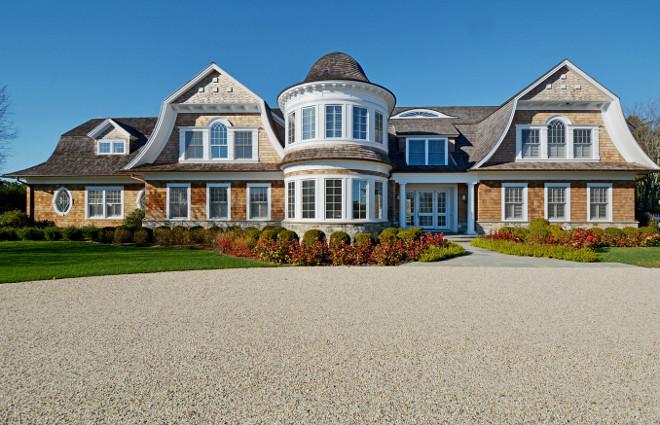 Shingle Home Exterior. Shingle Home Exterior Ideas. Hamptons Shingle Home Exterior. #ShingleHome #Exterior John Laffey Architect