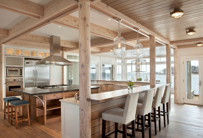 Post And Beam Kitchen. Post And Beam Kitchens. Modern Post And Beam Kitchen. Modern Post And Beam Kitchens #ModernKitchen #PostAndBeamKitchen #PostAndBeam #Kitchen #ModernPostAndBeamKitchen Michael Greenberg & Associates.