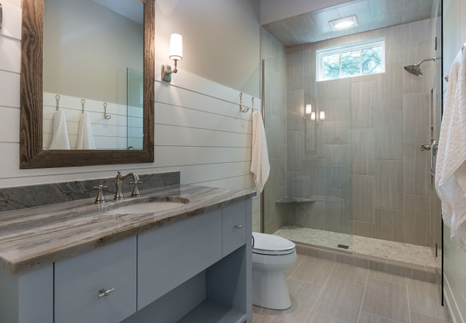 pretty benjamin moore revere pewter bathroom. Neutral modern bathroom painted in Revere Pewter by Benjamin Moore on walls  and White Dove Home Bunch Interior Design Ideas