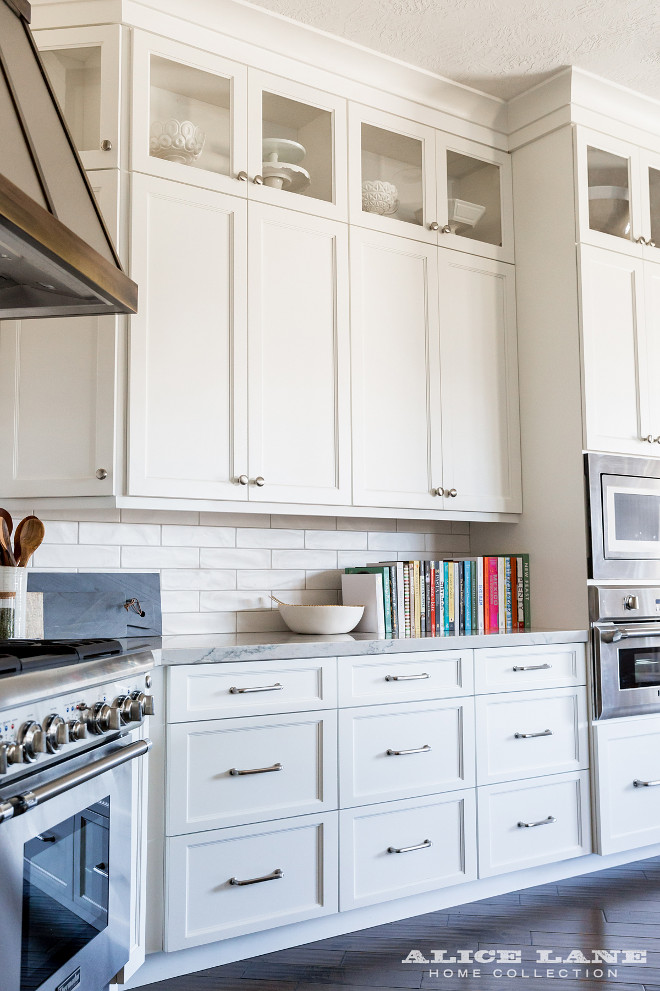 Benjamin Moore OC-17 White Dove Kitchen Cabinet Paint Color. Benjamin Moore OC-17 White Dove Kitchen Cabinet Paint Color. Kitchen cabinet paint color is White Dove OC-17 by Benjamin Moore. #BenjaminMoore #OC17 #WhiteDove #Kitchen #Cabinet #PaintColor