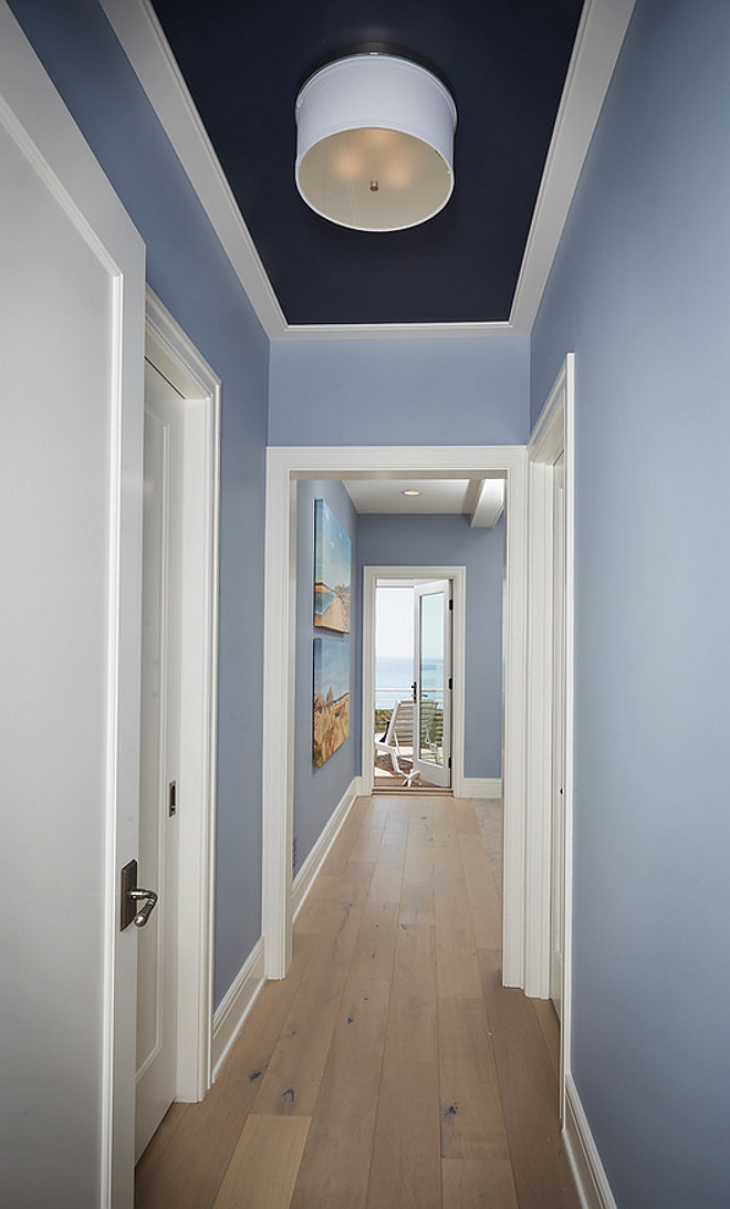 Benjamin Moore 1629 Bachelor Blue. Ceiling inset paint color is Benjamin Moore 1629 Bachelor Blue. Benjamin Moore 1629 Bachelor Blue #BenjaminMoore1629BachelorBlue #BenjaminMoore #1629 #BachelorBlue #BenjaminMoorepaintcolors