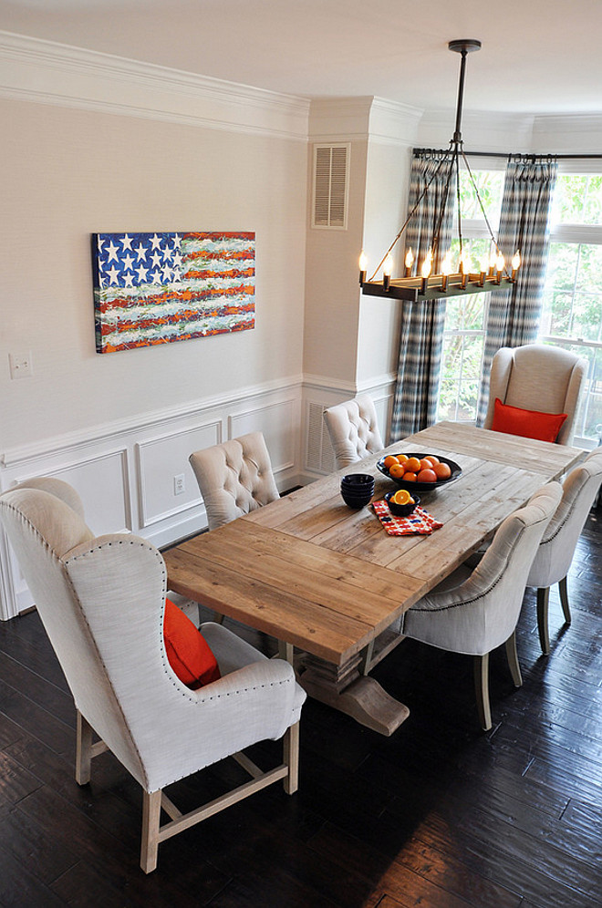 Americana Dining Room. Americana dining room ideas #Americana #Diningroom Lapis Ray Interior Design
