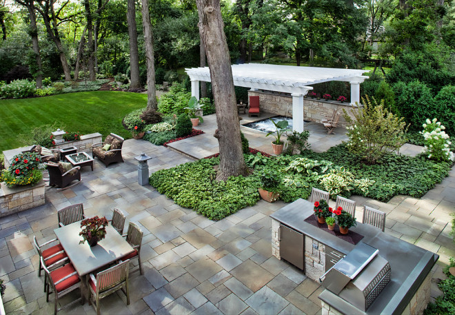 Backyard plan. Backyard layout. Great backyard layout. The 2100sf floor plan offers myriad opportunities: preparing and enjoying meals, reading in the walled garden, relaxing in the spa. #Backyardlayout #Backyardplan #backyard #layout #plan Hursthouse Landscape Architects and Contractors