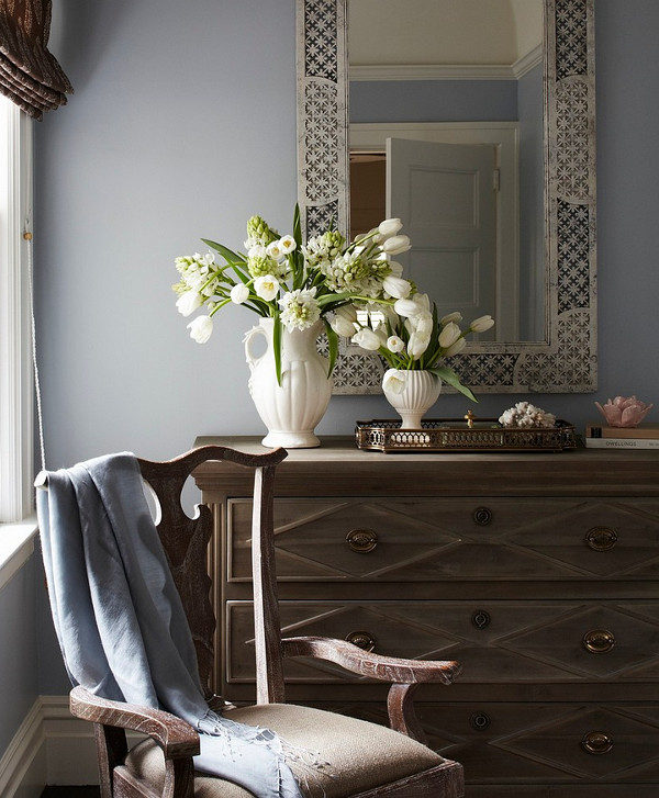 Bedroom dresser styling. Bedroom dresser styling. Bedroom dresser decor. Bedroom dresser styling #Bedroom #dresserstyling #dresserdecor Massucco Warner Miller Interior Design