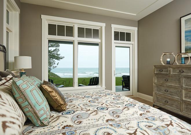 Bedroom window and doors height to capture the view.  #bedroom #window #door #height #view
