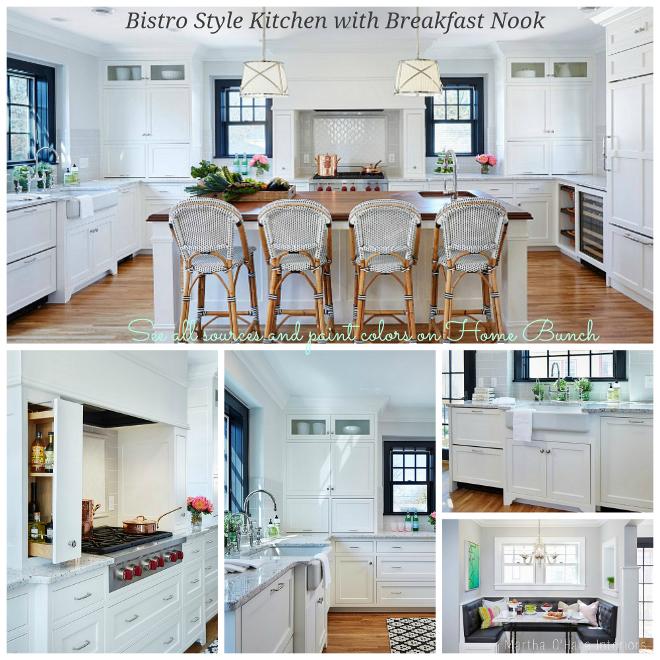 Bistro Style Kitchen with Breakfast Nook
