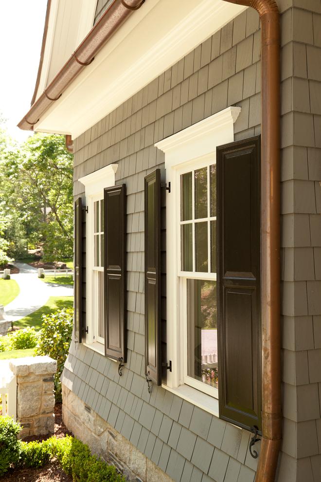 Outdoor Window Shutters Color