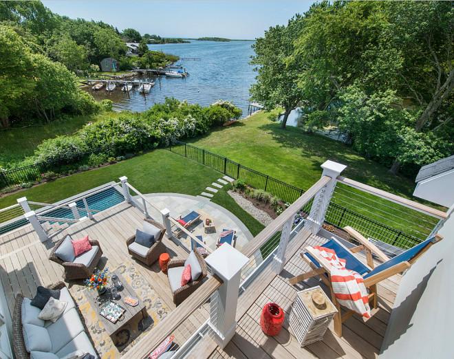 Deck. Home with several decks. Home decks #decks #patios #home #deck #backyard Caldwell & Johnson Custom Builders & Remodelers