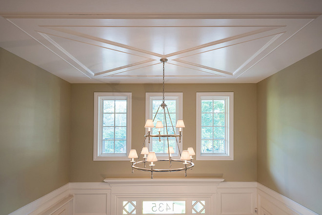 Foyer ceiling millwork. Foyer ceiling millwork design ideas. Foyer ceiling millwork ideas. Foyer ceiling millwork #Foyer #ceilingmillwork Northstar Builders, Inc.