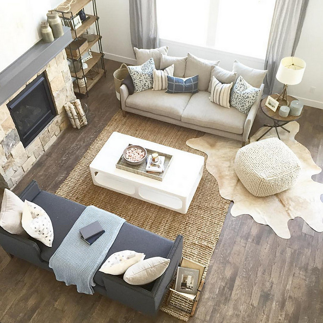Living room furniture layout. Modern Farmhouse living room furniture layout. Rustic Modern Farmhouse living room furniture layout. #Livingroomfurniturelayout #livingroom #furniturelayout #Rusticfarmhouse #ModernFarmhouselivingroom #furniture #layout Caitlin Creer Interiors