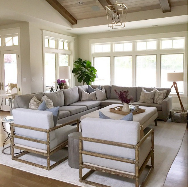 Living room furniture. Neutral living room furniture. #Livingroom #furniture #neutralLivingroom Caitlin Creer Interiors