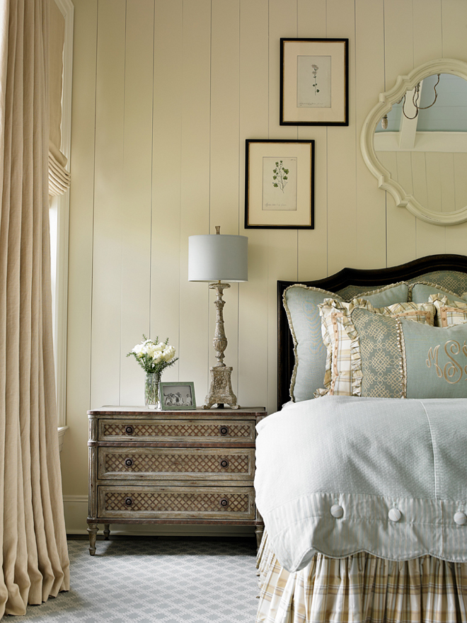Benjamin Moore Elephant Tusk. Master Bedroom. Ivory Bedroom painted in Benjamin Moore Elephant Tusk. Master Bedroom. Ivory Bedroom painted in Benjamin Moore Elephant Tusk. #MasterBedroom #IvoryBedroom #BenjaminMooreElephantTusk #BenjaminMoore #ElephantTusk Interiors by Mary McWilliams from Mary Mac & Co.