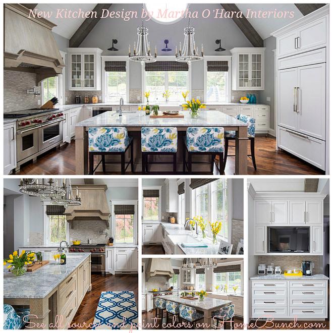 New Kitchen Design by Martha O'Hara Interiors