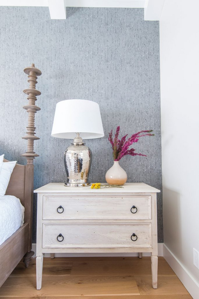 Nightstand styling ideas. Reclaimed wood nightstands and Nightstand styling ideas. #Nightstandstyling #Reclaimedwoodnightstand Blackband Design.
