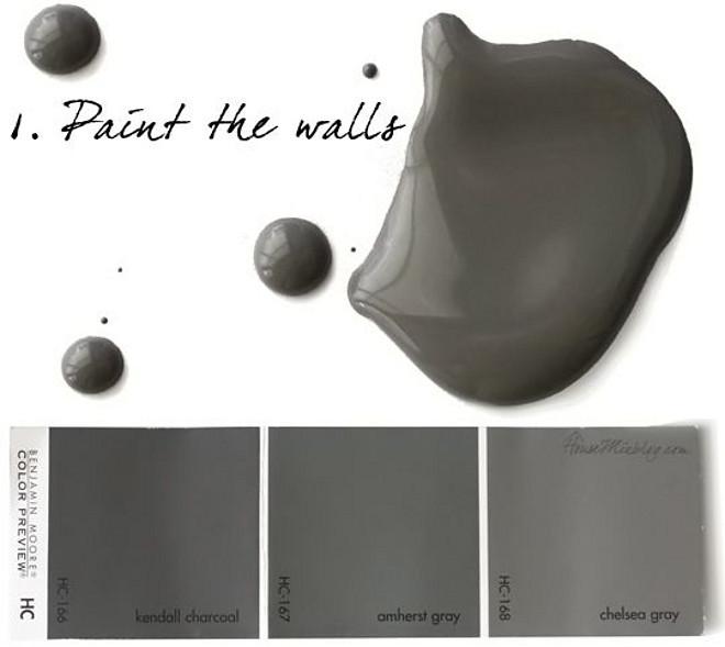 No fail charcoal paint colors