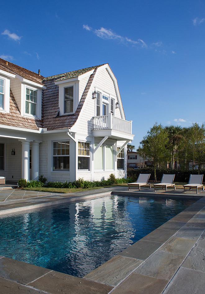Pool stone patio. Pool stone patio is Bluestone stone tile. Pool surround stone patio. #Poolstonepatio #Pool #stonepatio Phoebe Howard