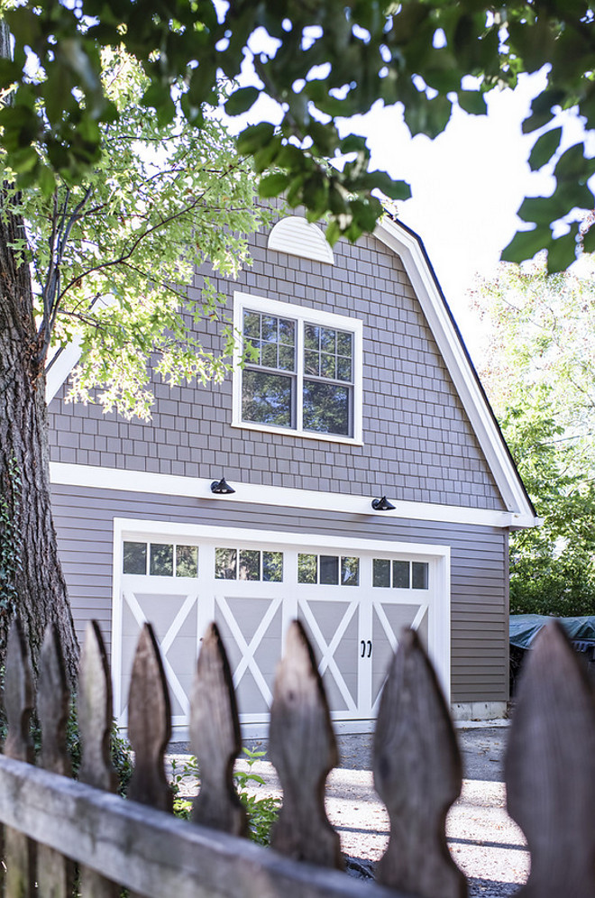 Shingle garage with bonus room. Shingle garage with bonus room ideas. #Shinglegarage #garagebonusroom Rock Paper Hammer Photography by Andrew Hyslop.