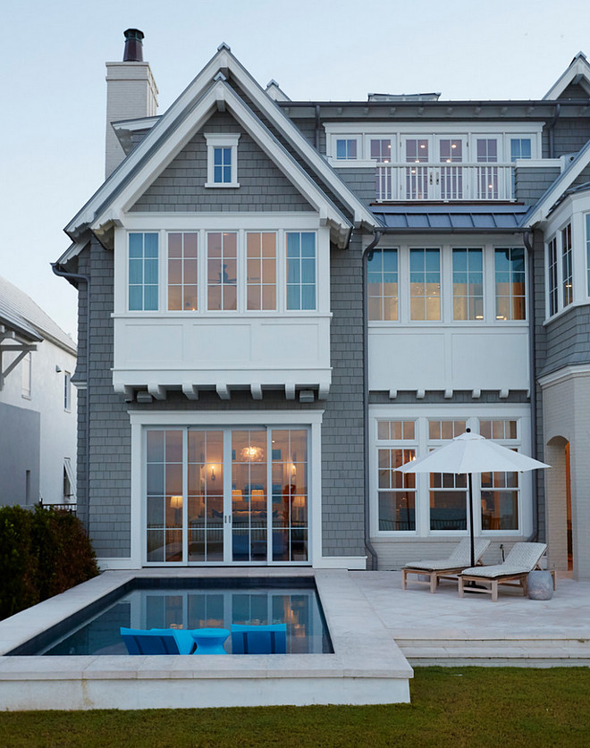 Small pool backyard layout. Beach house with small pool. Small pool backyard layout. #Smallpool #backyard #backyardlayout TS Adams Studio Architects. Laura Allyson Interiors.
