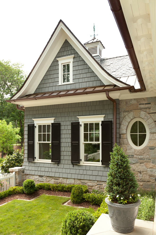 Bluestone exterior. Bluestone siding. Bluestone exterior ideas. Bluestone used on exterior of this home. #Bluestone #homeexterior #Bluestoneexterior #homes T.S. Adams Studio. Interiors by Mary McWilliams from Mary Mac & Co.