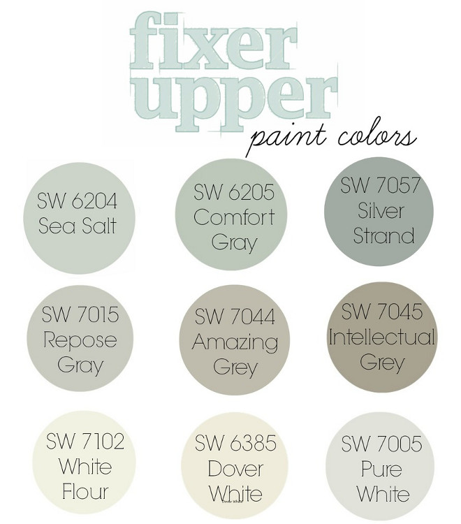 Popular Paint Colors. Best Seller Paint Colors by Sherwin Williams. Sherwin Williams SW 6204 Sea Salt. Sherwin Williams SW 6205 Comfort Gray. Sherwin Williams SW 7057 Silver Strand. Sherwin Williams SW 7015 Repose Gray. Sherwin Williams SW 7044 Amazing Gray. Sherwin Williams SW 7045 Intellectual Gray. Sherwin Williams SW 7102 White Flour. Sherwin Williams SW 6385 Dover White. Sherwin Williams SW 7005 Pure White. #SherwinWilliamsSW6204SeaSalt #SherwinWilliamsSW6205ComfortGray #SherwinWilliamsSW7057SilverStrand #SherwinWilliamsSW7015ReposeGray #SherwinWilliamsSW7044AmazingGray #SherwinWilliamsSW7045IntellectualGray #SherwinWilliamsSW7102WhiteFlour #SherwinWilliamsSW6385DoverWhite #SherwinWilliamsSW7005PureWhite