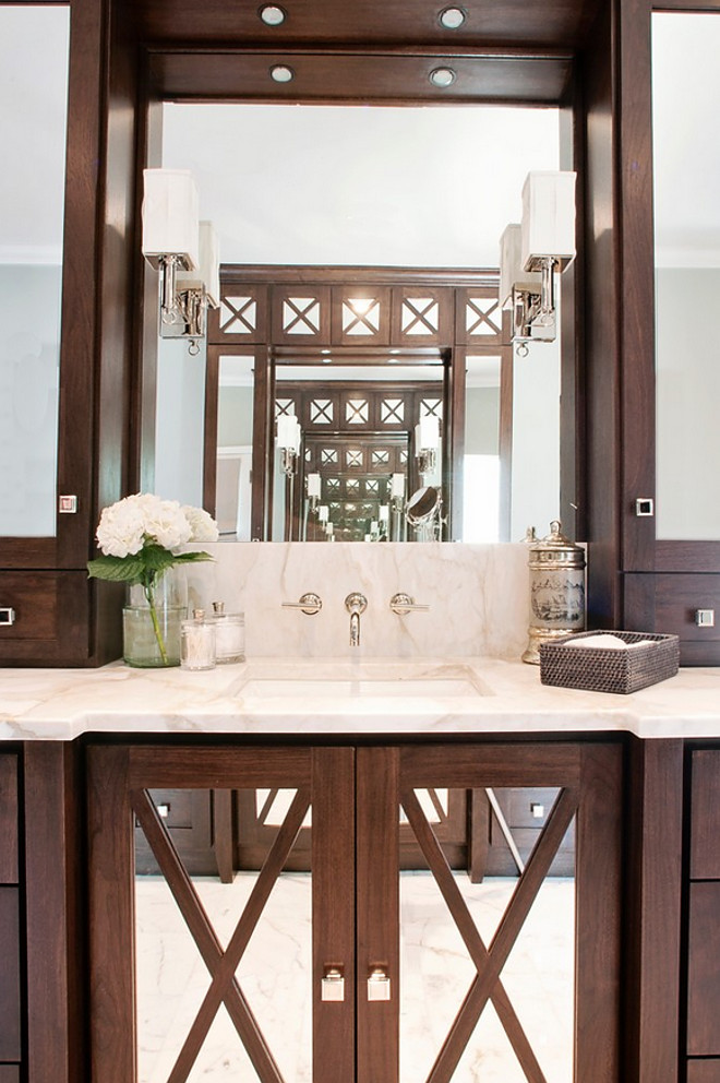 Bathroom Mirrored Cabinet Door. Bathroom Mirrored Cabinet Doors. Bathroom Mirrored Cabinet Door ideas. #Bathroom #MirroredCabinetDoor #CabinetDoor BRADSHAW DESIGNS LLC