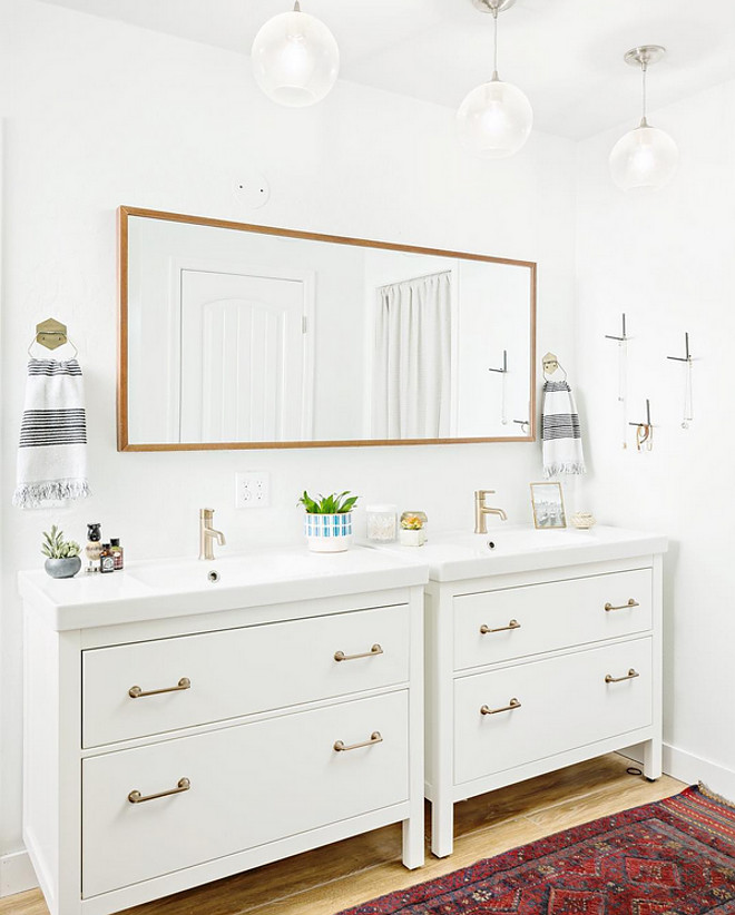 Bathroom reno inspo. Modern farmhouse bathroom reno. Bathroom renovation. Bathroom reno inspiration. Bathroom #Bathroom #Reno #Inspo #Bathroomreno #Bathroomrenovation #Farmhousebathroom #Modernfarmhousebathroom #Modernfarmhousebathroomreno A Finer Touch Construction,LLC