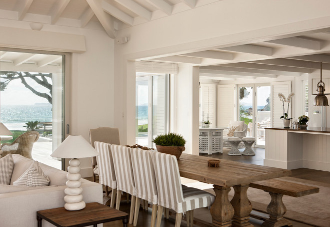 Beach house interiors. This is the true feel of a beach house. Beach house interiors #Beachhouse #Interiors #Beachhouseinteriors Christian Anderson Architects