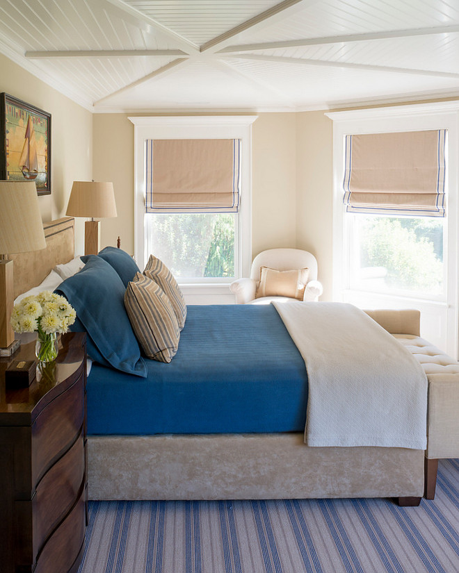 Beadboard Bedroom ceiling. Beadboard Ceiling in Small Bedroom. Beadboard Ceiling in Small Bedroom Ideas #BeadboardCeiling #SmallBedroom #Bedroomceiling Phoebe Howard