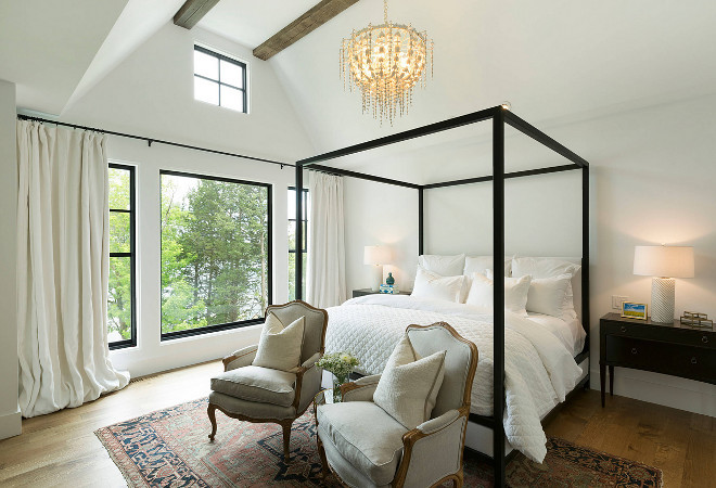 Bedroom Black Steel Windows. Bedroom Black Steel Window. Bedroom Black Steel Window Ideas. Bedroom Black Steel Windows #Bedroom #BlackSteelWindows SteelWindows SteelWindow Studio M Interiors. Stonewood, LLC