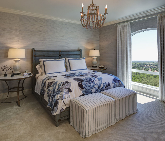 wallpaper for master bedroom florida condo with coastal interiors home bunch 17770