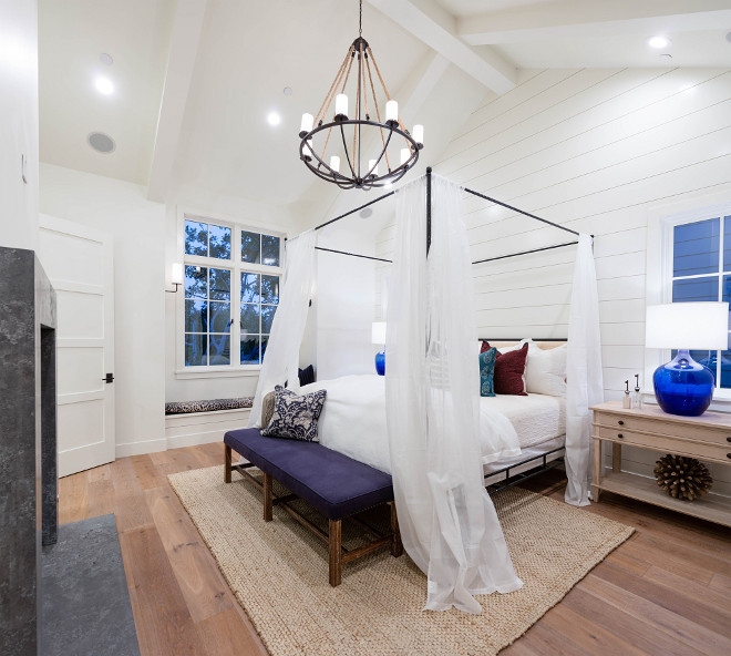 Painting An Accent Wall In A Room With Vaulted Ceiling: California Shingle Beach House