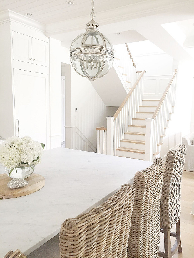Bianco Carrara honed. White marble countertop is Bianco Carrara honed. Kitchen marble countertop Bianco Carrara honed. #BiancoCarrara #BiancoCarrarahoned #kitchen #honedmarble #countertop #marble jshomedesign