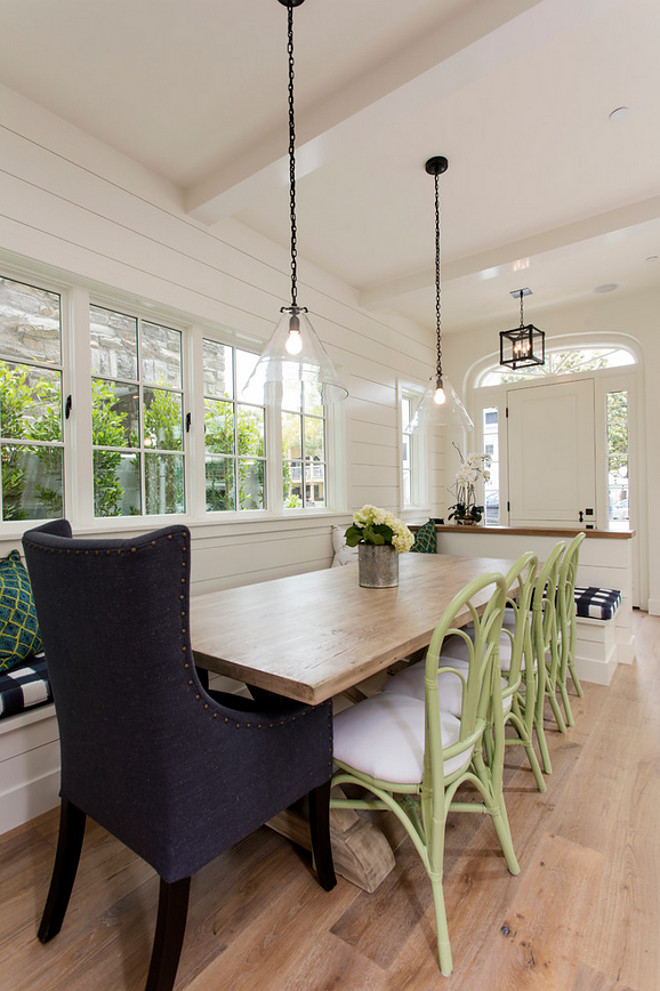 Breakfast nook chairs. Floors are wide plank white oak hardwood floors. Breakfast nook chairs. Breakfast nook chair ideas. Breakfast nook chairs. #Breakfastnookchairs #Breakfastnook #chairs Blackband Design