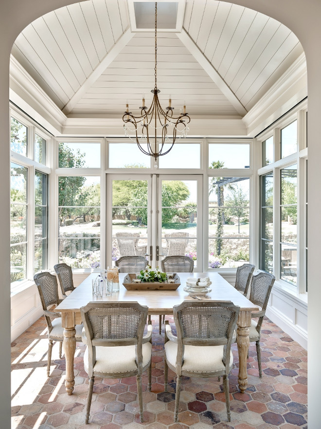Breakfast room shiplap ceiling. Breakfast room shiplap ceiling and windows. Breakfast room shiplap ceiling ideas. Breakfast room shiplap ceiling. #Breakfastroom #shiplapceiling #shiplap #ceiling