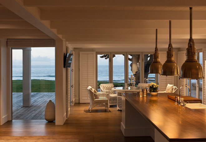 Coastal kitchen. Coastal kitchen. Coastal kitchen design. Coastal kitchen #Coastalkitchen Christian Anderson Architects