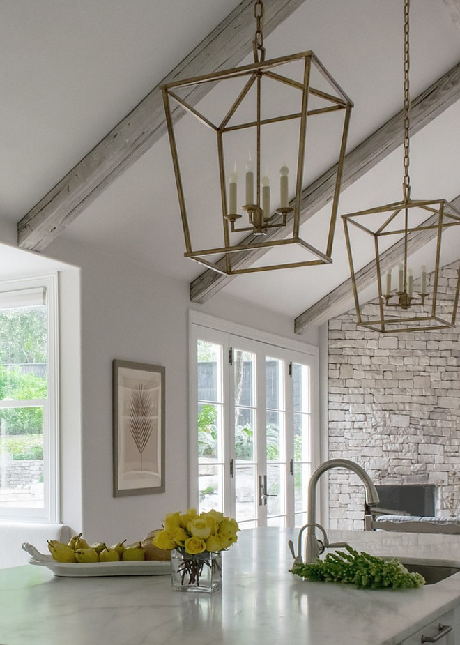 Darlana Lantern, Gilded Iron. Circa Lighting Darlana Lantern, Gilded Iron. The open, airy iron frame of this three-dimensional pendant brings depth and structure to any space. Sealed in a gilded finish for added luster. Open lanter. NO glass lantern lighting. #Darlana #Lantern #Openlantern #noglasslantern #GildedIron #CircaLightingDarlanaLantern #lighting BRADSHAW DESIGNS