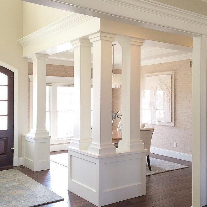Dining room Column. Dining Room Columns. Dining Room Column Ideas. Dining Room Column. Dining Room Columns #DiningRoomColumns #DiningRoomColumn Beautiful Homes of Instagram carolineondesign