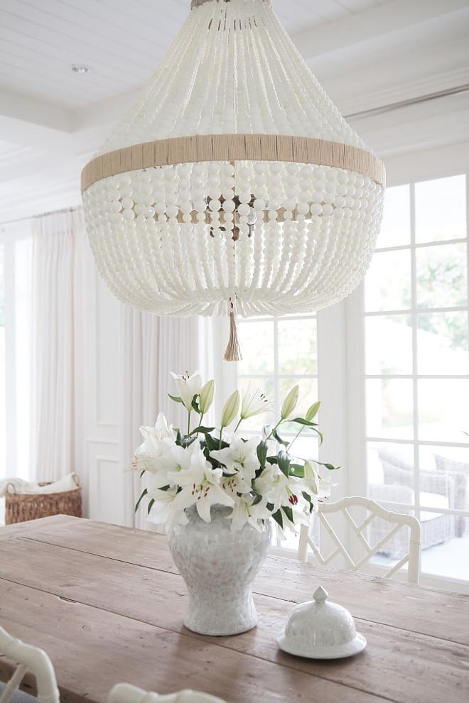 Dining room lighting. Dining room lighting. Dining room lighting is Ro Sham Beaux Orbit- White Milk beads. #Diningroom #lighting #RoShamBeaux #OrbitWhiteMilkbeads jshomedesign