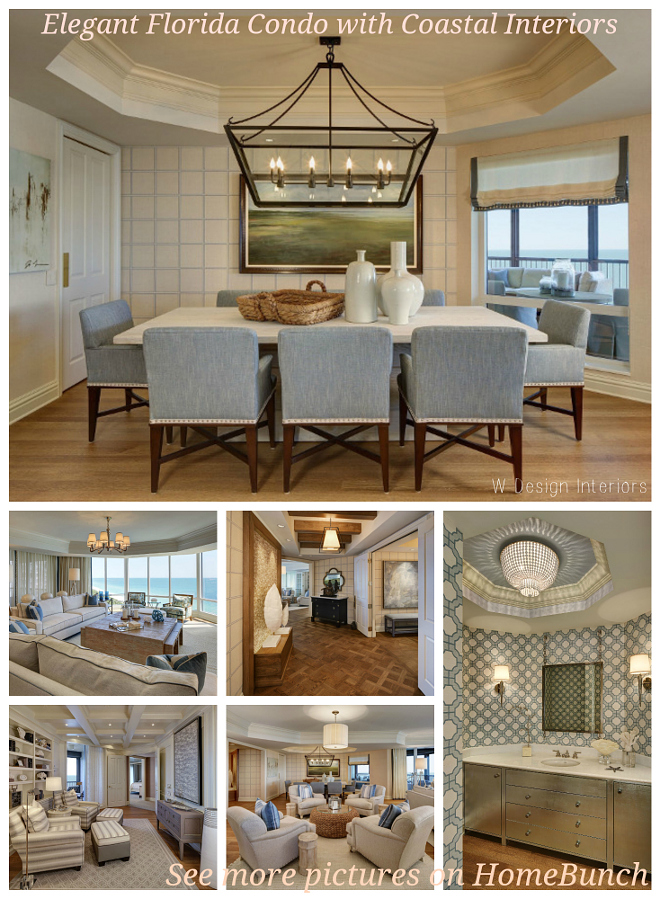 Elegant Florida Condo with Coastal Interiors. Vacation Homes in Florida. Elegant Florida Condo with Coastal Interiors.