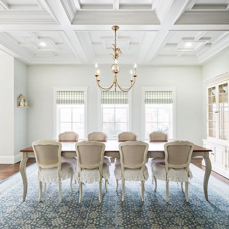 Coffered ceiling dining room design. Dining room Coffered ceiling. Custom designed Coffered ceiling in dining room. Unique Coffered ceiling dining room ideas. Original Coffered ceiling dining room #Cofferedceiling #diningroom #Cofferedceilingdiningroom #diningroomcofferedceiling #cofferedceiling #diningroom Fox Group Construction.