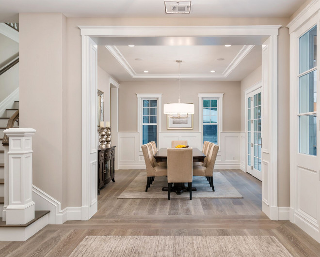 Foyer Open To Living Room : Newly built hamptons style home bunch interior