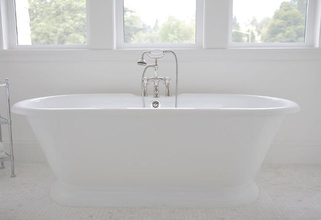 Freestanding tub - Cheviot Products Inc- Sandringham cast iron tub. Bathroom with Freestanding tub - Cheviot Products Inc- Sandringham cast iron tub. #bathroom #Freestandingtub #CheviotProductsInc #Sandringham #castirontub