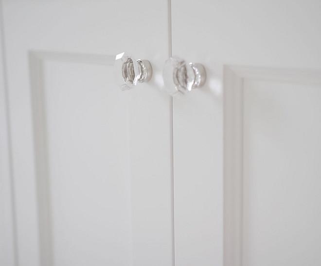Glass Knobs. Glass Knobs. Glass Knobs Cabinet Hardware. Emtek - Old town clear cabinet knob- polished nickel