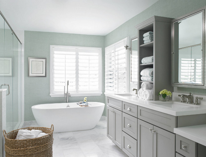 Grey Cabinet Paint Color. Benjamin Moore Baltic Grey. Benjamin Moore Baltic Grey cabinet paint color. Benjamin Moore Baltic Grey. #BenjaminMooreBalticGrey #Greycabinet #paintcolor Celtic Home Gallery